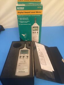 Extech 407736 Sound Level Meter Digital 1 5db Accuracy