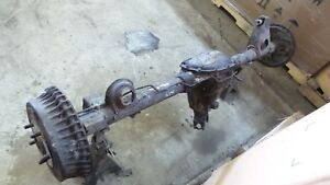 82 92 Camaro Firebird Drum Brake 10 Bolt 3 08 Open Non Posi Rear End Axle