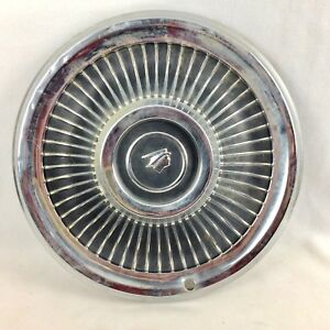 Mercury Hubcap Hub Cap Vintage 15 In Vtg 1950s Man Cave Wall Garage Car Auto