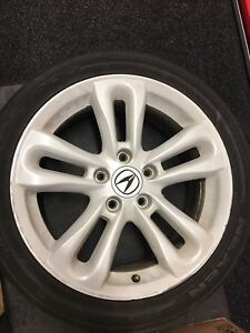 Acura Integra Type R Rsx S Wheels 5x114 3 17x7 215 45 17 White Pick Up Only