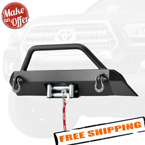 Warn 100044 Semi hidden Winch Mounting System For 2016 2018 Toyota Tacoma