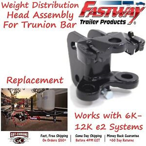 92 02 1255 Fastway Trailer Replacement Weight Distribution Hitch Head Assembly