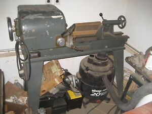 Oliver 51 D 4 Lathe Bed With Lathe Motor