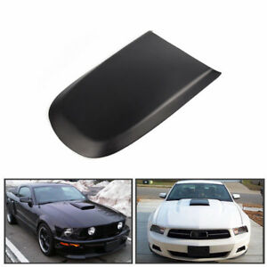 Black Front Racing Style Air Vent Hood Scoop For Ford Mustang Gt V8 2005 2009