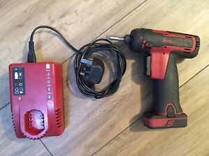Snap On 14 4v Cordless Screwdriver 1 4 Drive Cts761 Battery Charger