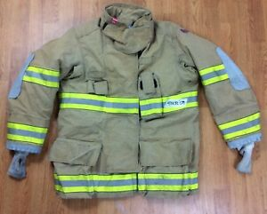 Globe G xtreme Fire Fighter Jacket Turnout Coat W Drd 42 X 32 08