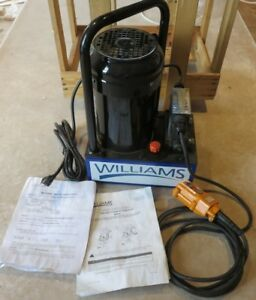 Electric Driven Hydraulic Pump 10000 Psi Williams bva 5es05h1g Single Acting