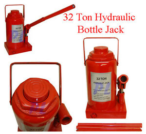 32 Ton Hydraulic Bottle Jack Car Jack Truck Lift Hd No Air 64 000 Lbs