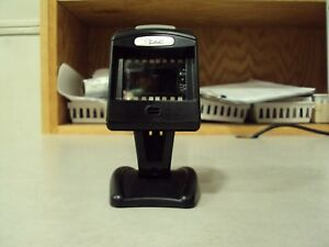 Datalogic Magellan 1000i Black Barcode Scanner With Stand And Usb Cable