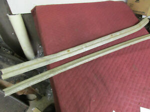 1941 Plymouth Coupe Door Sills step Plates