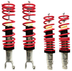 Nnr Coilovers Height Adjustable For Honda 1988 1991 Civic Ef Crx
