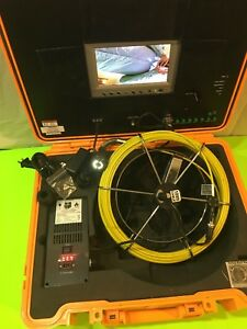 Trojan Sewer Drain Inspection Camera System 100 With Hard Case
