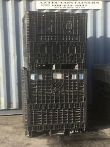 Used Plastic Pallet 45x48x50 Containers Gaylord Shipping Bins Used