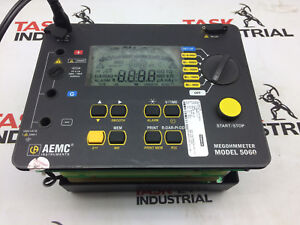 Aemc 5060 Digital Megohmmeter Insulation Tester No Field Case