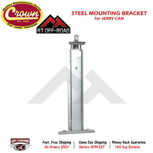 Rt26012 Crown Automotive Rt Off road Mounting Bracket For Crown Jerry Cans