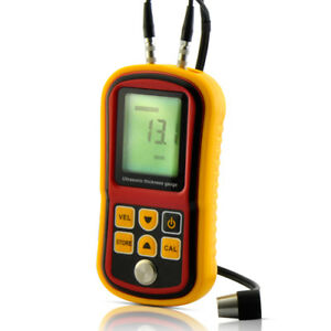 Digital Lcd Ultrasonic Thickness Gauge Metal Testering Measuring Instruments