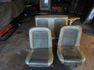 1967 19651966 Mustang Front Seat Seats Used Set Drivers Passenger Left Right