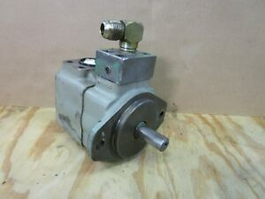Vickers 25v21a1c10100 25v 21a 1c10 100 Hydraulic Vane Pump 1 1 2 Out X 1 In