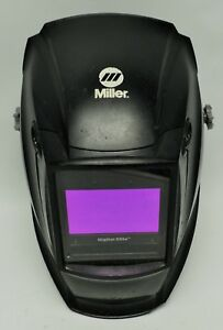 Miller Auto Darkening Welding Helmet Black Digital Elite 3 5 To 8 8 To 13 Lens