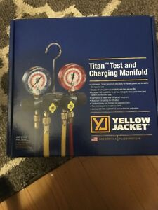 Yellow Jacket 49977 Titan Test And Charging Manifold 4 v