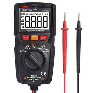 Digital Multimeter Pocket Auto Ranging Electrical Volt Amp Ohm Voltage Dc ac Lcd
