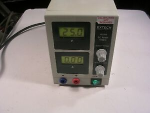 Extech Dc Power Supply Model 382202 Tested