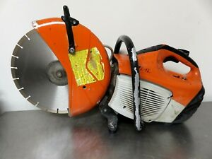 Stihl Ts420 Gas Concrete Cut off Saw W New Blade