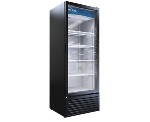 Pro kold Large 1 One Door Glass Soda Display Cooler Refrigerator Led Vc 23