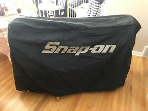 Snap On Tool Box Chest Cover Black Fits 57 X 24 Chest Krl761bpht
