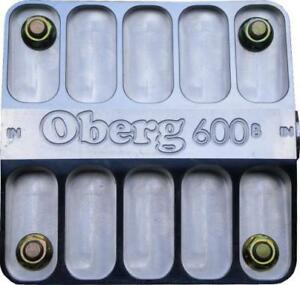 Oberg Filters 12 An 60 Micron Stainless Element 600 Series Fluid Filter P n 6060