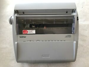 Brother Electronic Typewriter Gx 6750 Excellent Condition With Keyboard Cover