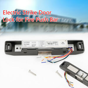 Ac Dc 12v 24v Electric Strike Lock Nc Fail safe For Door Access Control System