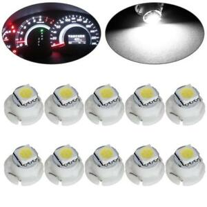 10x T5 T4 7 White Neo Wedge Led Bulb 1 5050 Smd For A C Climate Control Light