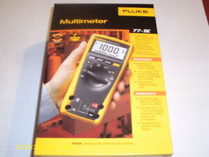 Fluke Digital Multimeter 77 Iv Meter New In Box 77iv