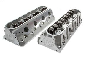 Air Flow Research Gm Ls Assm Lsx Mongoose Street Cylinder Head 2 Pc P N 1680