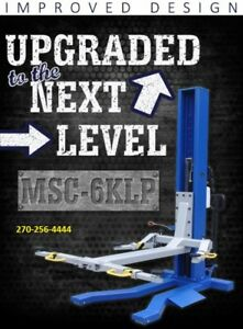 Single Post Mobile Lift Column Msc 6k lp 6 000 Lb All New Low Pro Ideal