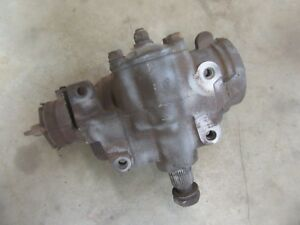 1973 1980 Chevrolet Truck 2 Wheel Drive Front Steering Gear Box Assembly Hot Rod
