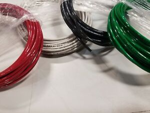 100 Ft 12 Awg Black White Green Red Thhn Stranded Copper Wire 25 Ft Ea