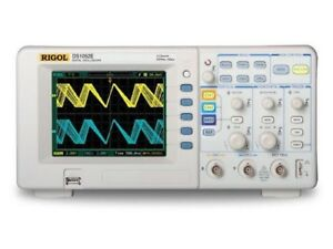 Rigol Ds1052e 50mhz Digital Oscilloscope With 2channels Plus Usb Storage