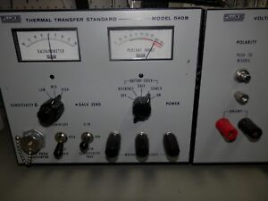 Fluke 540b Thermal Transfer Standard With A54 2 Voltage Plug in Unit Tested
