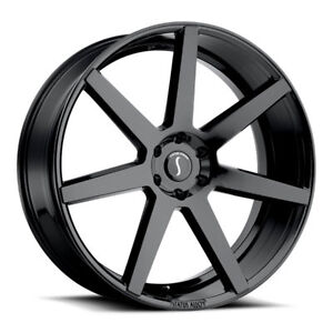 26 Inch 26x10 Status Journey Gloss Black Wheel Rim 6x5 5 6x139 7 25