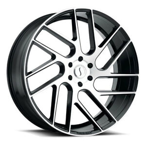 26 Inch 26x10 Status Juggernaut Black Machined Wheel Rim 6x135 30