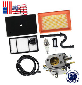 Carburetor With Air Filter Tune Up Kit For Stihl Ts 400 Concrete Cut off Saw