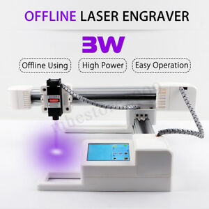 3000mw Offline Usb Laser Engraver Engraving Machine Logo Diy Mark Printer Cutter