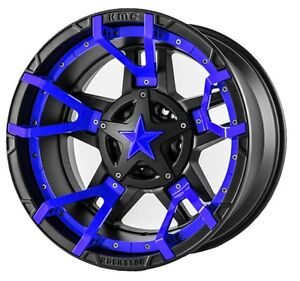 17 Inch Blue Rims Wheels Toyota Truck Tacoma 4runner Fits Nissan Truck 6 Lug