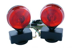 Custer Incandescent Magnetic Tow Lights In Clamshell