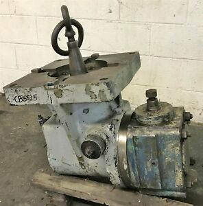 Ingersoll Right Angle Milling Head
