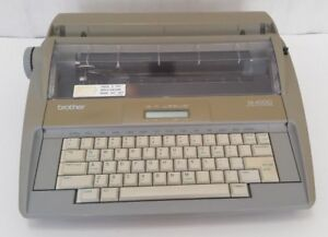 Brother Sx 4000 Electronic Correcting Typewriter Tested Just Needs Ribbon