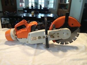 Stihl Ts350 Super Concrete Cut off Saw