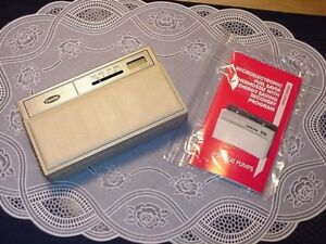 Carrier Microelectronic Fuel Saver Thermostat Energy New